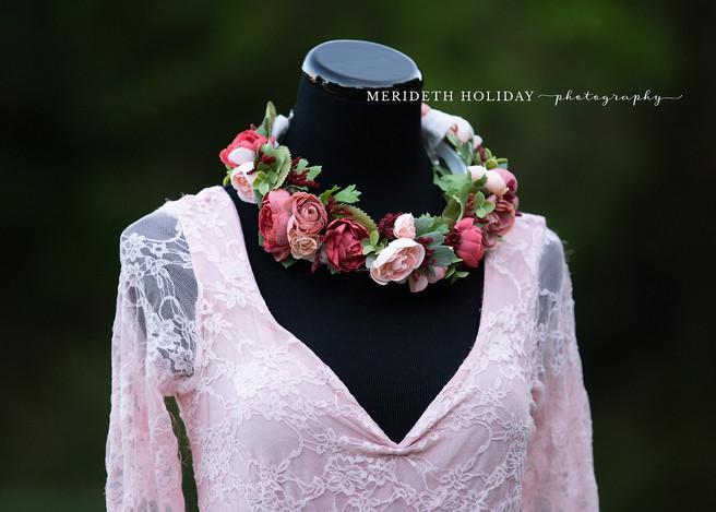 Pink Floral Crown