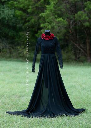 J&L Designs Black Gown
