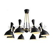 pendant lamp; black lampshade pendant lamp; metal pendant lamp