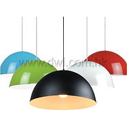 Pendant lamps; lampshade; black pendants; red pendants; white pendants