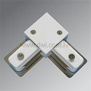 2-line Track L Connector