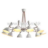 pendant lamp; white lampshade pendant lamp; metal pendant lamp