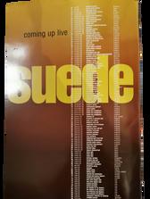 Coming Up Tour Programme, 1996-1997