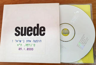 Promo CD for the 25 January 2000 Tel Aviv gig - containing 5 live recordings