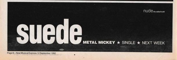 New Musical Express, 12 September 1992