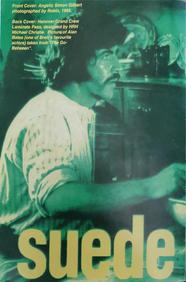 SIS #11 Spring 1996 Back Cover