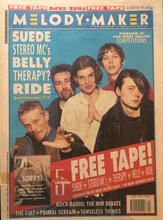 Melody Maker, 30 January 1993 Cover