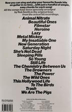 Suede The Chord Song Book Back Cover