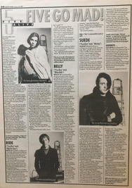 Melody Maker, 30 January 1993 pg30
