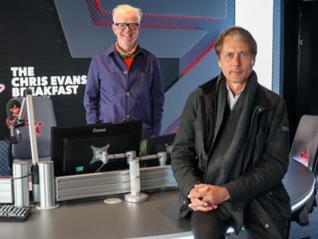 Listen to Brett's Interview with Chris Evans