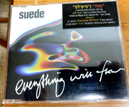 Promo CD - 'Everything will Flow' Faithless Remix, Given to radio stations in Israel