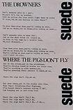 Lyric Sheets