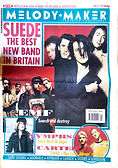 SUEDE THE BEST NEW BAND IN BRITAIN Melody Maker 1992