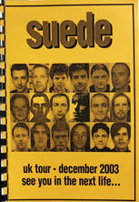 Singles Tour Itinerary December 2003 Cover