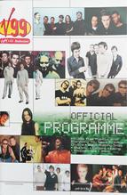 V99 OFFICIAL PRPGRAMME 1999 Front