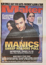 Melody Maker, 4 Jan 1997 - Cover