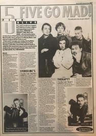 Melody Maker, 30 January 1993 pg27