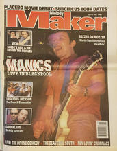 Melody Maker, 12 April 1997 Cover