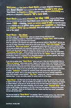 Mini Head Music Booklet pg1, 3 May 1999