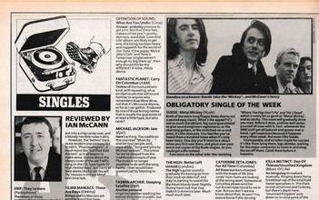 Single of The Week, 1992