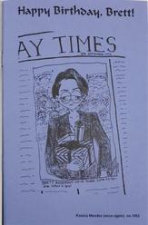 SIS Newsletter October 1993 inside back page
