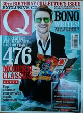 Q Magazine 30th Birthday Issue, June 2016 Cover