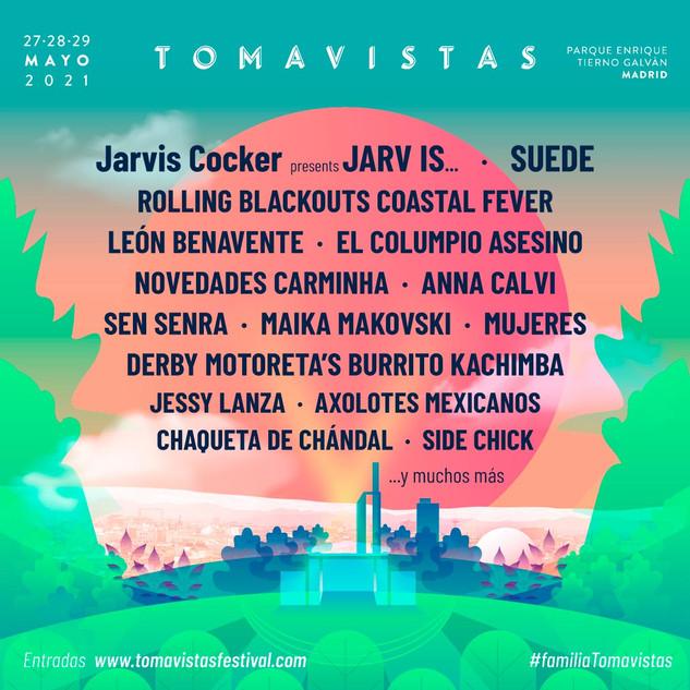 Tomavistas Festival, Madrid, Spain, 27-29 May 2021