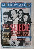 SUEDE  It's official  The Best New Band In Britain Melody Maker 1993