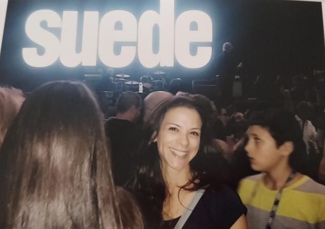 Suede in Israel, 2015