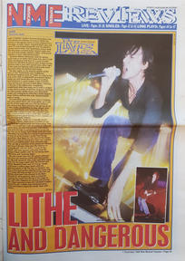NME 7 December 1996 Live review