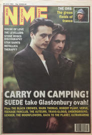 NME, 26 June 1993 - Cover