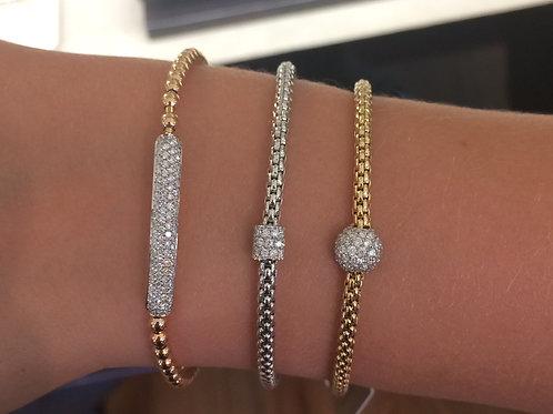 Hulchi Belluni STRETCH Bracelet with Diamonds
