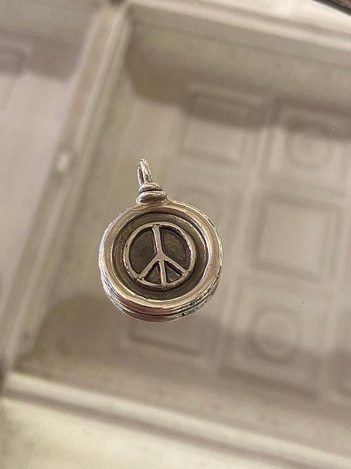 Peace wax seal