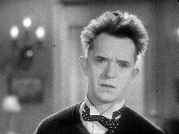 Stan Laurel delivering the perfect stare.