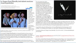 Nos enchanteurs (article Trihoreau)