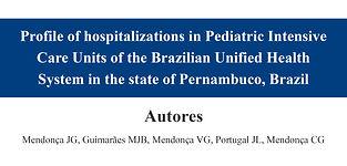 Profile of hospitalizations in Pediatric
