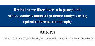 Retinal nerve fiber layer in hepatosplen