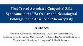 First Travel-Associated Congenital Zika