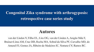 Congenital Zika syndrome with arthrogypo