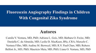 Fluorescein Angiography Findings in Chil