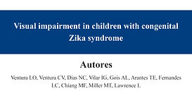 Visual impairment in children with conge