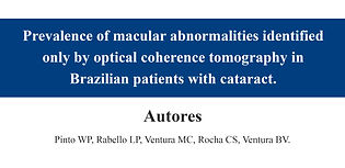 Prevalence of macular abnormalities iden