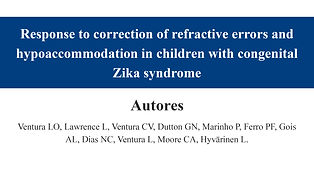 Response to correction of refractive err