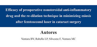 Efficacy of preoperative nonsteroidal an
