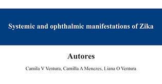 Systemic and ophthalmic manifestations o
