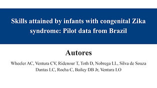 Skills attained by infants with congenit