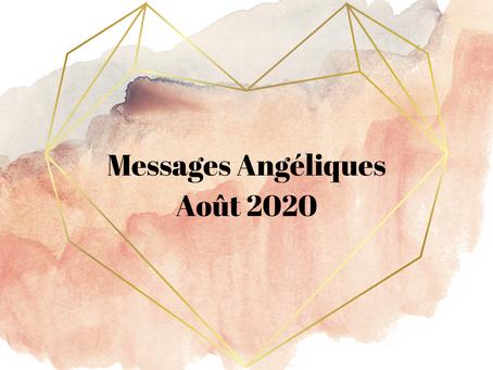 Messages Angéliques Août 2020