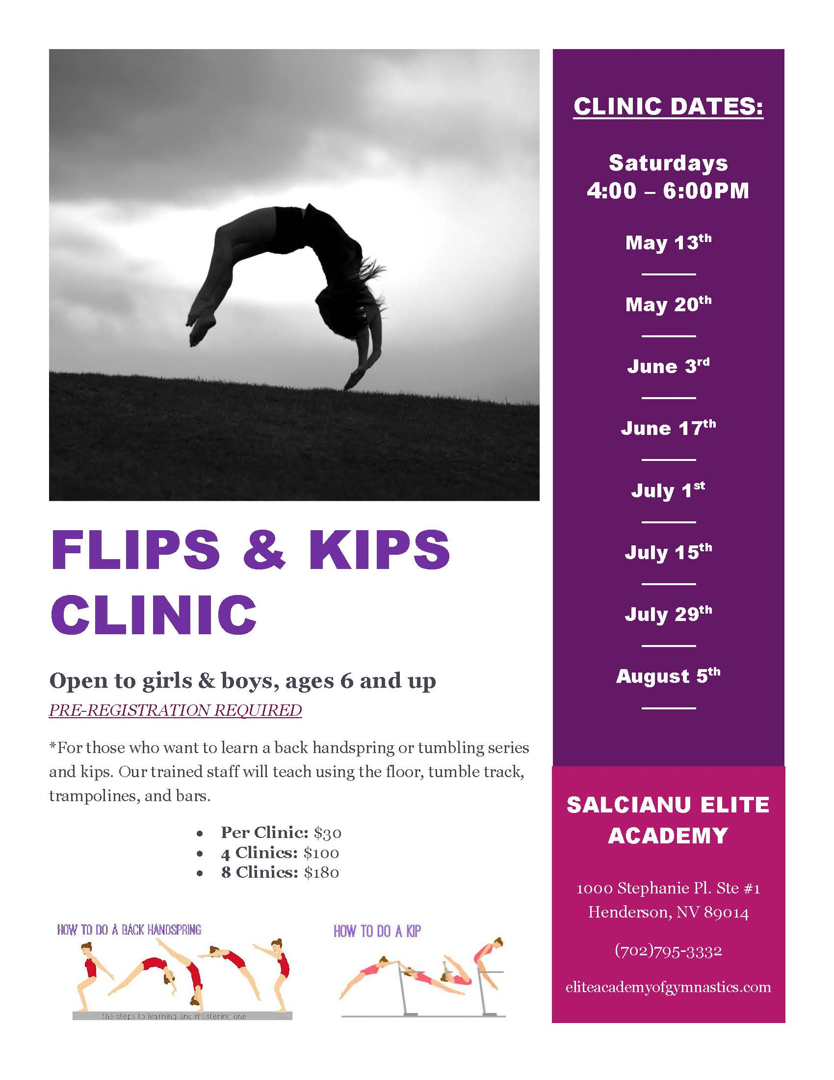 05-06 _ Flips and Kips Clinic