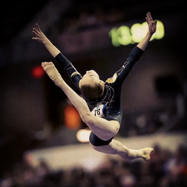 Instagram - Great job to Maile O'keefe, we are so proud of you!  #gymnastics #SecretClassic #salcian