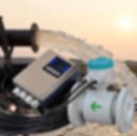 Medidor-de-Vazão-Eletromagnetico
